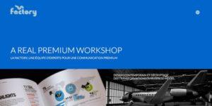 Nouvelle version site web – La Factory